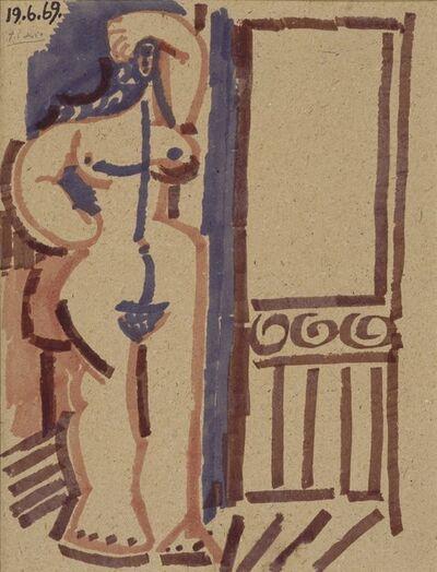Pablo Picasso, 'Femme debout', 1969