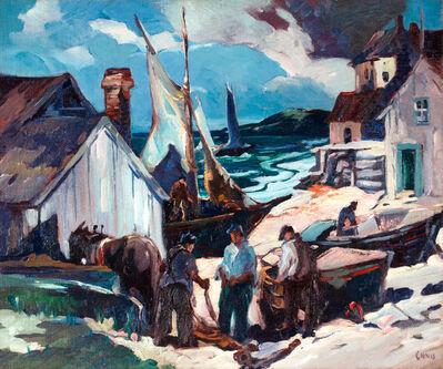 George Pearse Ennis, 'Harbor Activity, Eastport, Maine', 20th Century