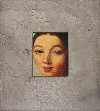 David Bierk, 'Portrait in Stone, After Ingres', 2001