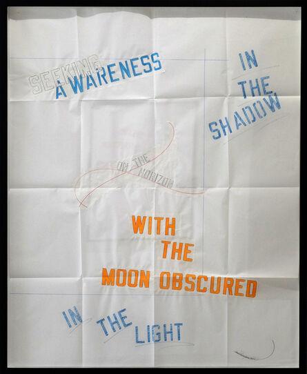 Lawrence Weiner, 'SEEKING AWARANESS', 2015