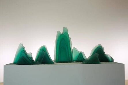 Wang Du 王度, 'One Thousand Li of Rivers and Mountains', 2018