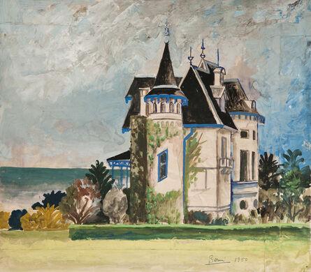 """Antonio Berni, 'Sin Título (Palacio Rodriguez de la Torre). De la serie """"Mar del Plata""""', 1950"""