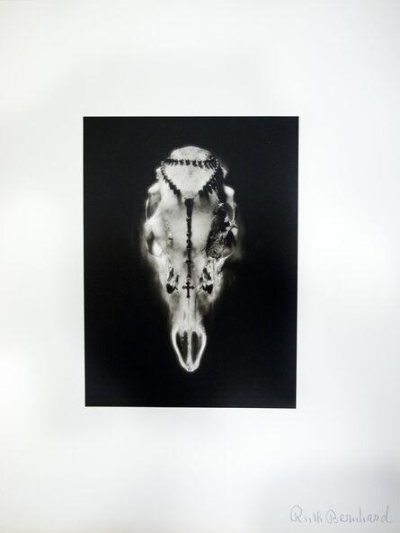 Ruth Bernhard, 'Skull & Rosary', 1945