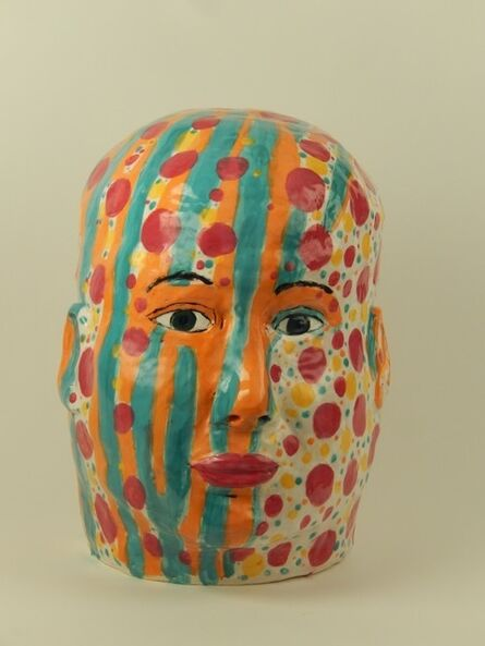 Linda H. Smith, 'Patterned Head', 2018