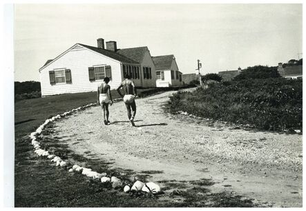 Andy Warhol, 'Andy Warhol's Montauk Estate with Two Unidentified Men', ca. 1975
