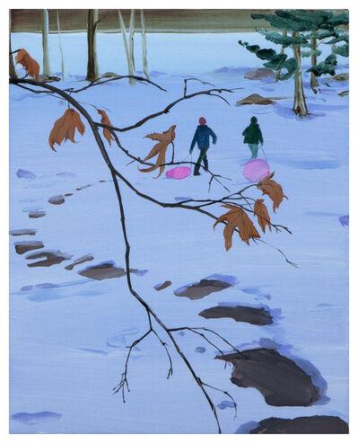 Sebastian Blanck, 'Pink Sleds', 2020