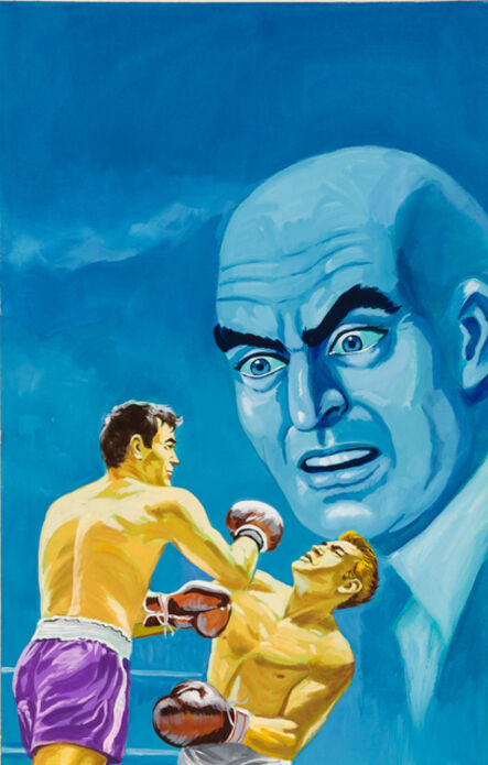 'Untitled (Boxing match with blue man)', c. 1960-75