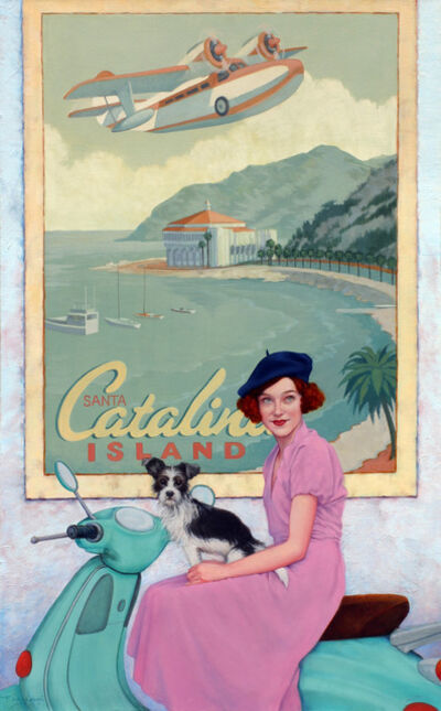 Fred Calleri, 'Coastal Companions', 2021