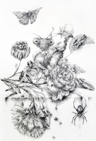 Joo Lee Kang, 'Still Life with Insects #7', 2014