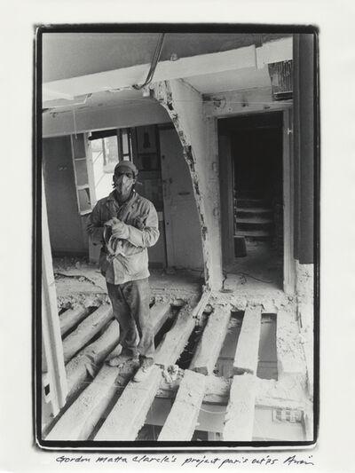 Shigeo Anzaï, 'Gordon Matta-Clark, 9th Paris Biennale, Paris, October, 1975', 1975