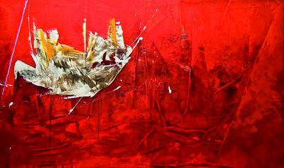 Gilberto Frómeta, 'Roja vastedad / Red Vastness', 2010