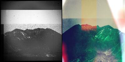 Penelope Umbrico, 'Two Westons with Daido Moriyama 35mm Medium Format Superslide MultiExposure and Lightleak (IMG_2152 and IMG_22482)', 2014