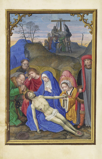 Simon Bening, 'The Lamentation', 1525-1530