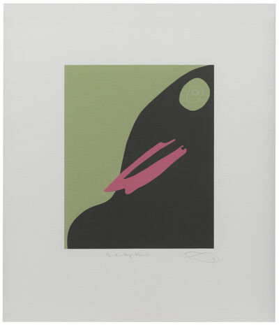 Gary Hume, 'Bird with Pink Beak', 2009