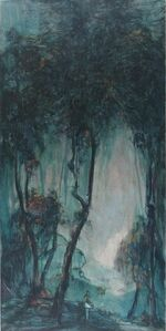 Wang Yabin, 'Poet in the Woods', 2017