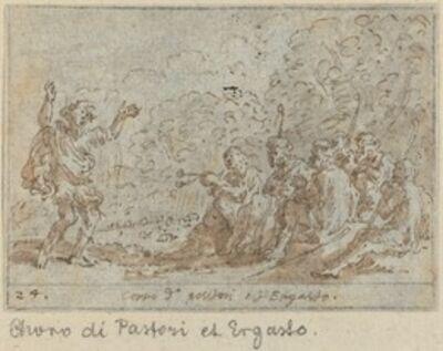 Johann Wilhelm Baur, 'Chorus of Shepherds and Ergasto', 1640