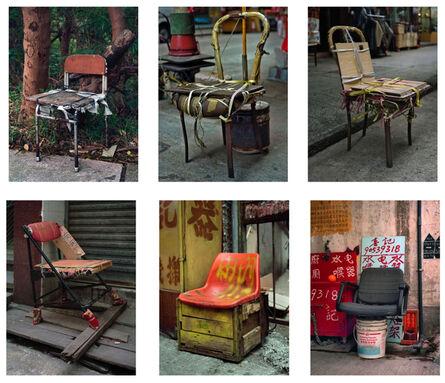 Michael Wolf (1954-2019), '#4, Hong Kong Bastard Chair 1, MFT group', 2014