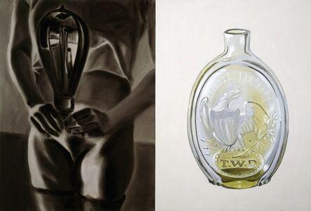 David Salle, 'American Glass, No. II', 1987