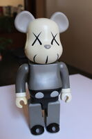 KAWS, '400% Gray Bearbrick ', 2002