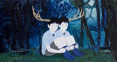 Mayuka Yamamoto, 'two deer', 2010