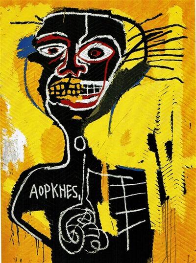 Jean-Michel Basquiat, 'Cabeza', 1984
