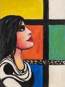 Pompeo Borra, 'Donna Alla Finestra', 1965