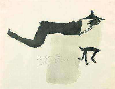 Julius Bissier, '29 April 51 p,', 1951