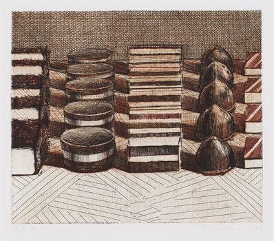 Wayne Thiebaud, ' Chocolates', 1993
