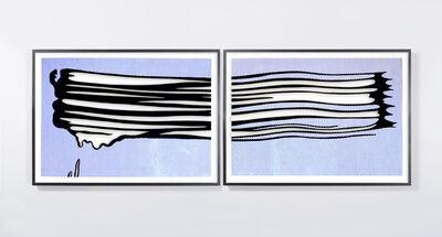 Jose Dávila, 'Untitled (Yellow Brushstroke II)', 2017