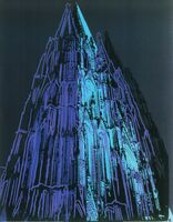 Andy Warhol, 'Cologne Cathedral (blue), 1985', 1985