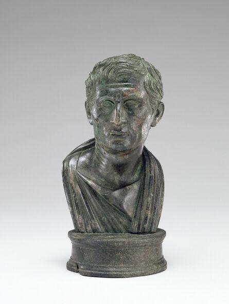 'Portrait Bust of Menander',  1 -25