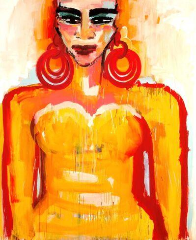 Elvira Bach, 'Meine Seele ist Afrika', 2015