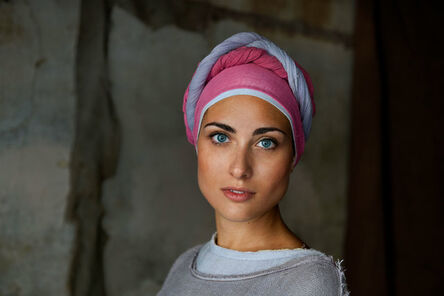 Steve McCurry, 'Woman in Costume for the Perugia Medieval Summer Festival'
