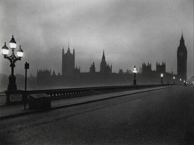 Evelyn Hofer, 'Westminster Bridge, London', 1962