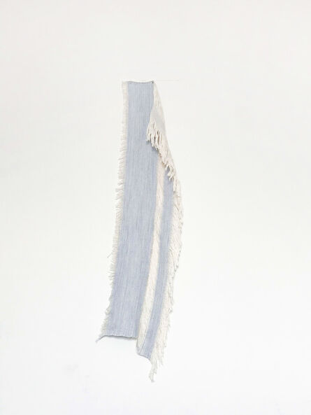 Frances Trombly, 'Drape 2 (Blue Silk and cotton)', 2018