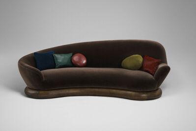 Mattia Bonetti, 'Sofa 'Cylinder Brunette II' Right', 2017