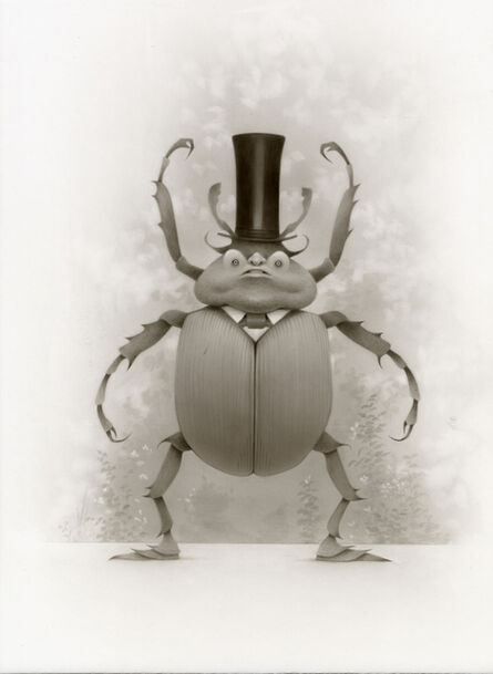 Travis Louie, 'Top Hat Insect Goblin', 2018