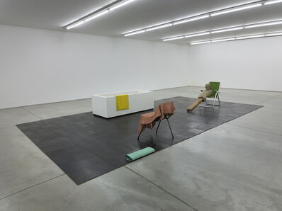 Mark Manders, 'Isolated Bathroom / Composition with Four Colors', 2010-2014