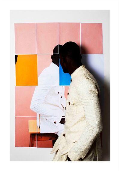 Lakin Ogunbanwo, 'Untitled (Pink Blocks II)', 2014