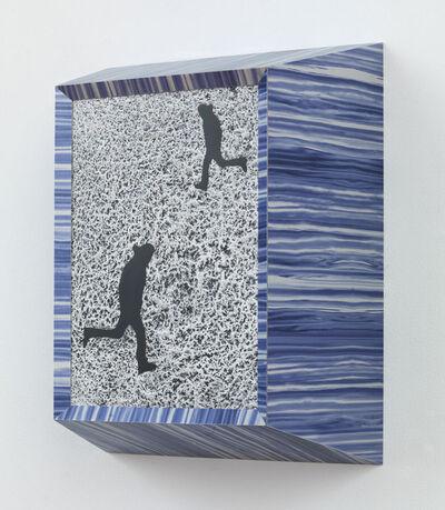 Richard Artschwager, 'Running Man (Double Black)', 2013