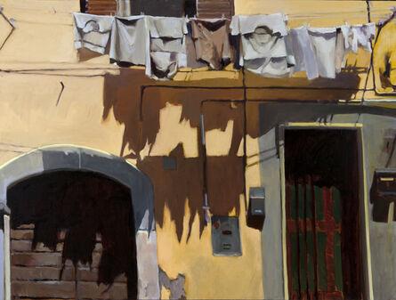 Connie Hayes, 'Yellow and Gray, Civita'