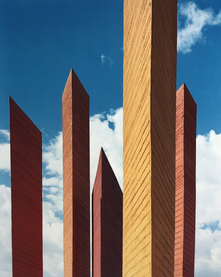 Armando Salas Portugal, 'Satellite City Towers 2', ca. 1960