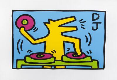 Keith Haring, 'DJ', 2015