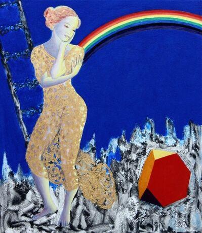 Michael Price, 'Homage to Dürer, Melencolia I, Angel of Eternal Transience', 2014