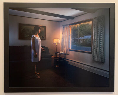 Gregory Crewdson, 'Untitled, (Circle on Window)  from TWILIGHT series', 2001 -2002