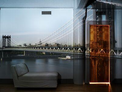 Abelardo Morell, 'Camera Obscura: View of the Manhattan Bridge, April 30th, Afternoon', 2010