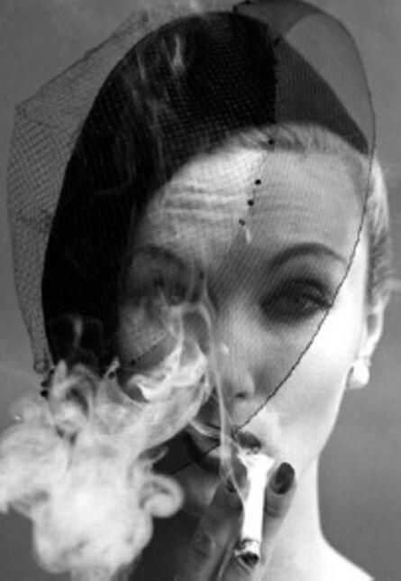 William Klein, 'Smoke + Veil 3, Paris (Vogue), 1958', 2019