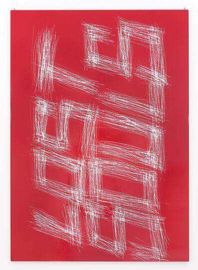 Thierry Furger, 'Sgraffito 15', 2017
