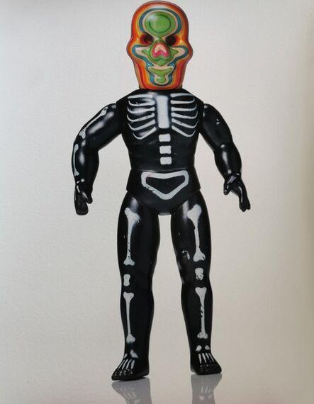 Haroshi, 'Skull Star', 2017