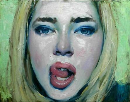Malcolm T. Liepke, 'Licking Her Lips', 2016